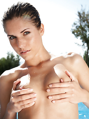 Errotica-Archives  Iveta  Pussy, Boobs, Breasts, Tits, Erotic, Softcore, Pool